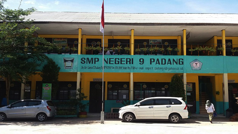 SMP-Negeri-9,-Wakili-Kota-Padang-pada-Lomba-Adiwiyata-Tingkat-Nasional