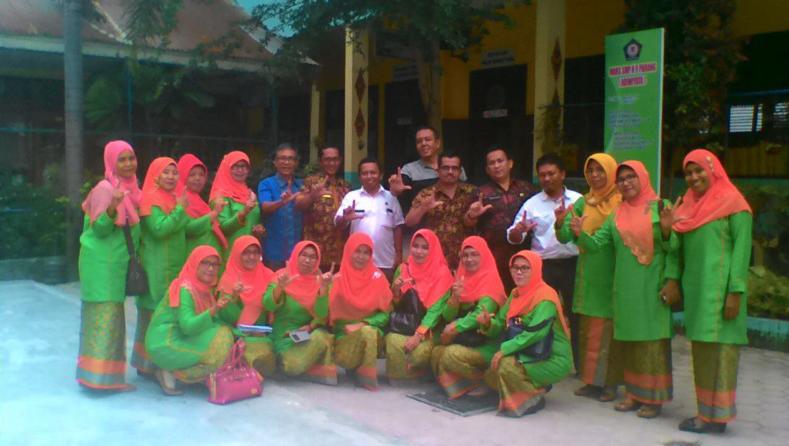 SMPN 9 Padang didatangi Tim Adiwiyata Nasional